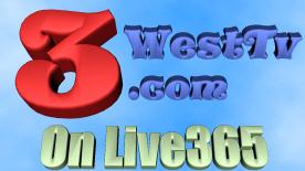 3WestTV on Live365 logo