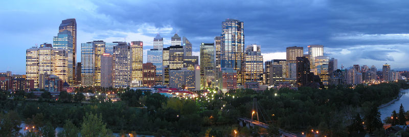 Calgary Downtown Map