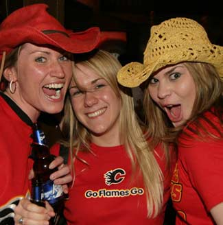 Calgary Girls Party some More