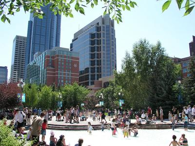 Photo courtesy of the Calgary Downtown Association