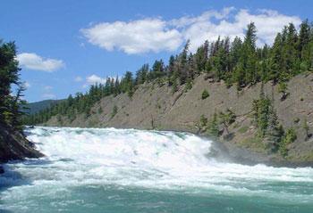 near Banff, Alberta