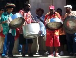 Informal street band