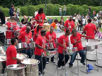 A UK steelband