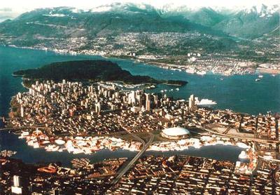 Vancouver from the south