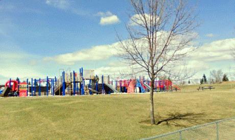 Playground in Marlborough Park