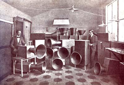 Noise Machines (Intonarumori Veduta)
