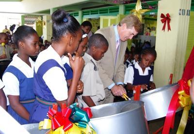 Kids in Barbados